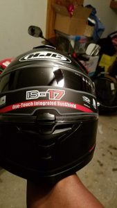 HJC IS-17 Motorcycle Helmet Overall Quality
