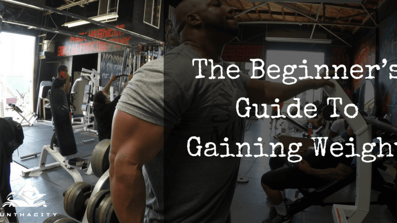 The Beginner's Guide To Gaining Weight