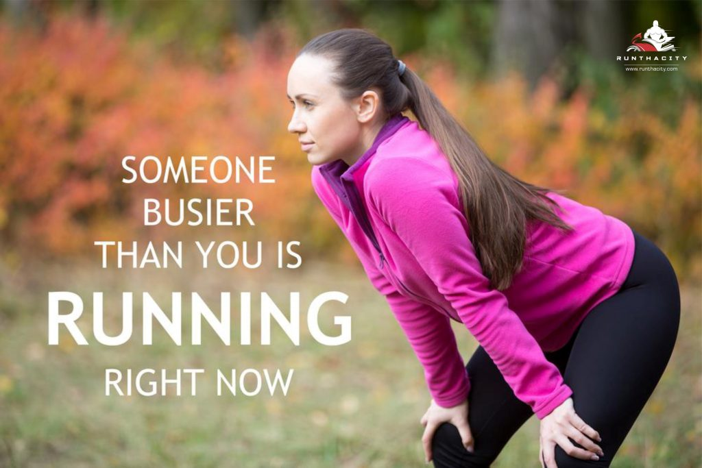 Someone Busier Than You Is Running Right Now