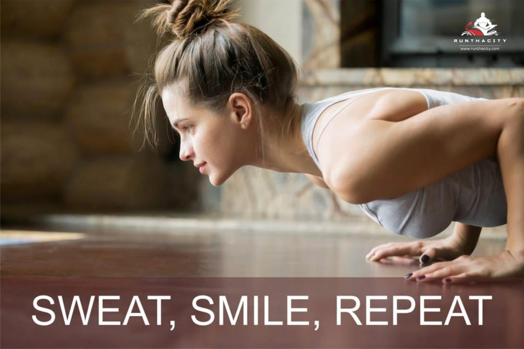 Sweat, Smile, Repeat