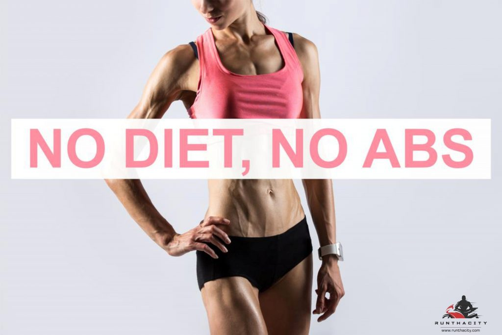 No Diet, No Abs