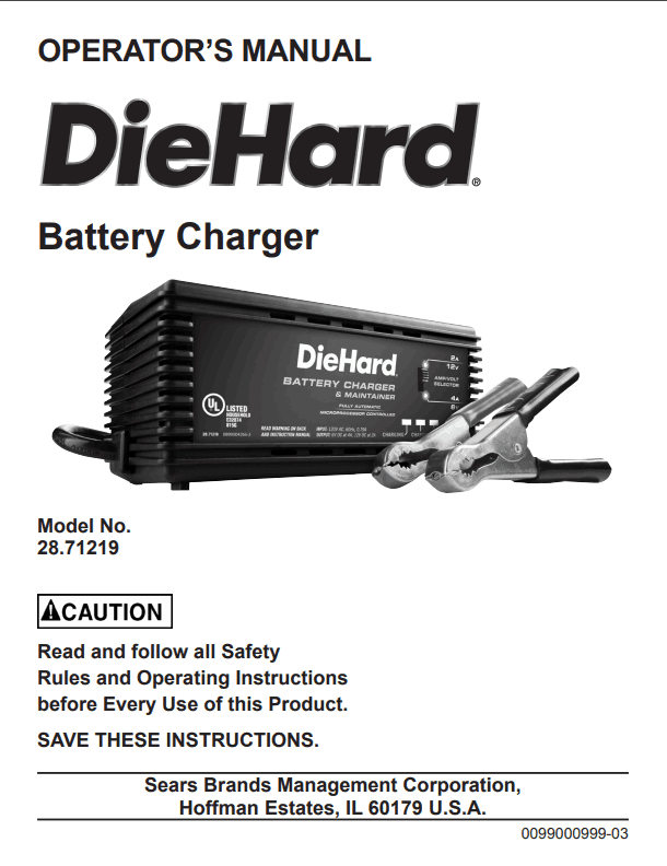 user manual battery tender